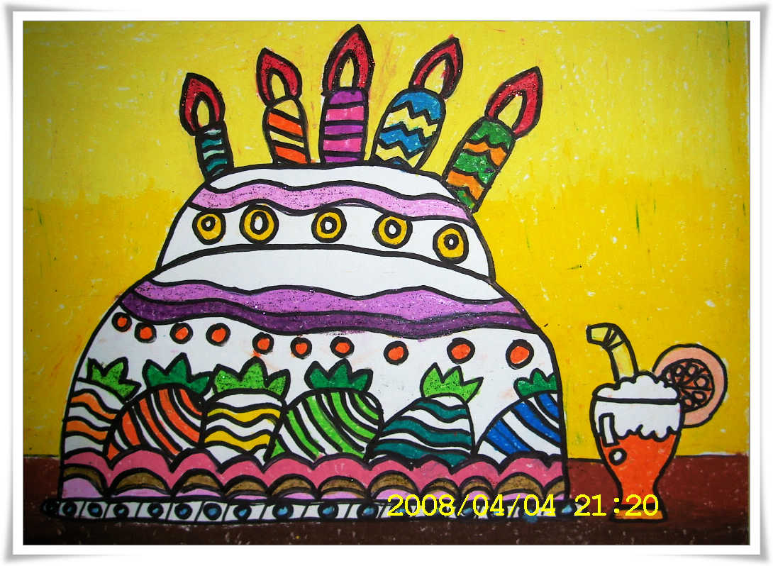 妈妈生日��.d_送给妈妈的生日礼物,量量画给我的,无比开心!